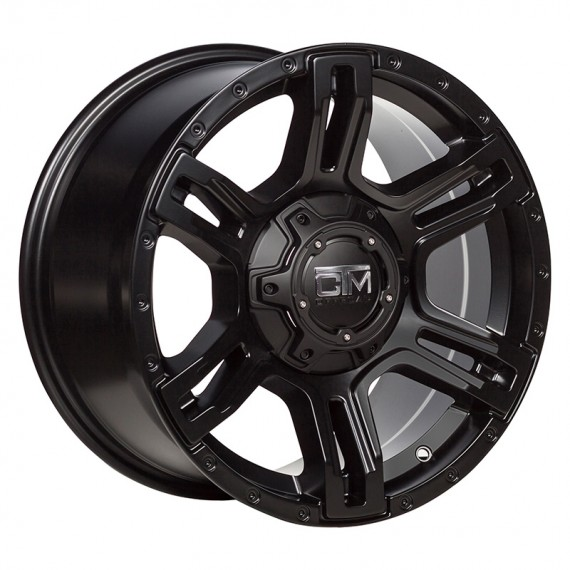 VIKING 17X9- SATIN BLACK