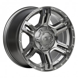 VIKING GUNMETAL 17X9