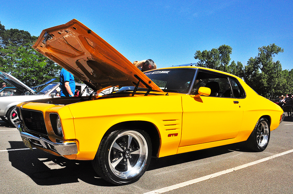 Holden GTS Monaro fitted with CTM Muscle GTS Sprint wheels