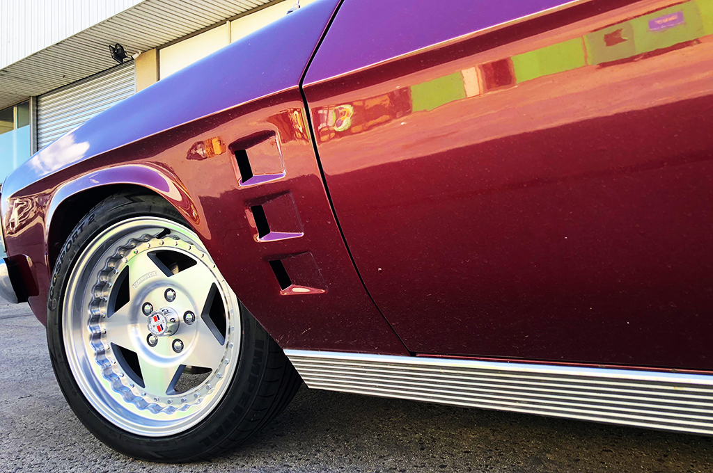 Holden HQ wagon fitted with CTM Muscle Custom Pro wheels