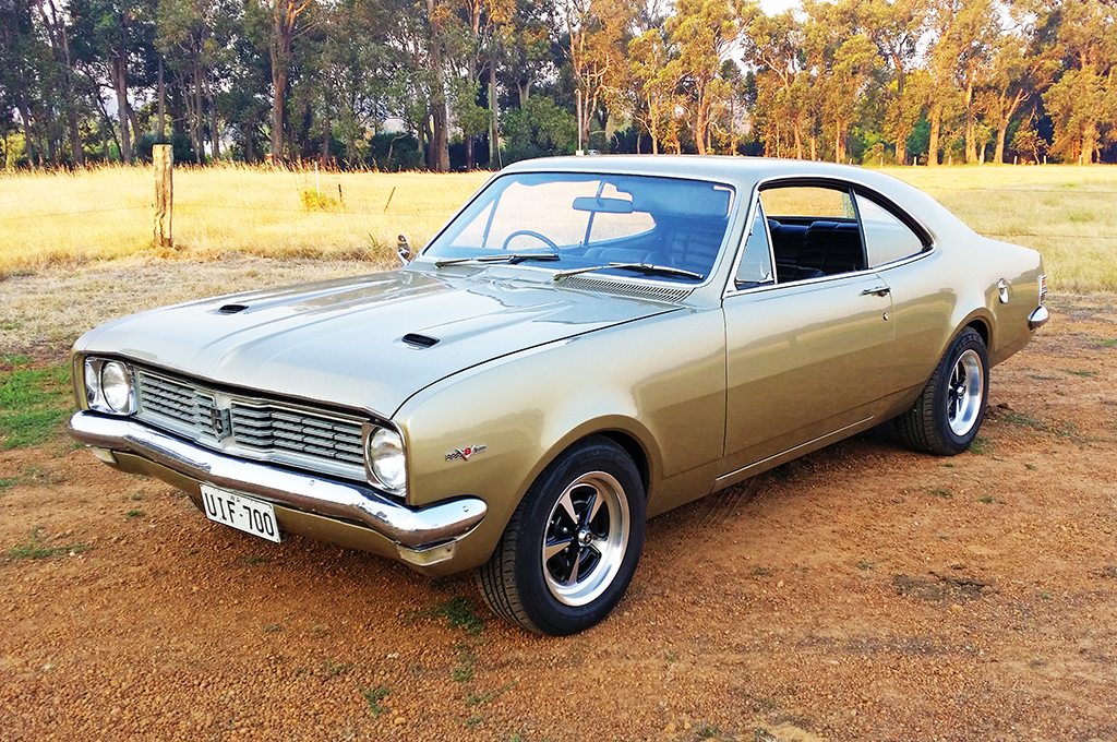 Holden HK Monaro fitted with CTM Muscle GTS Spring wheels