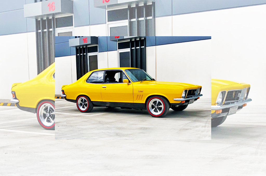 Holden Torana fitted with CTM Muscle GTS Sprint 15x7 wheels