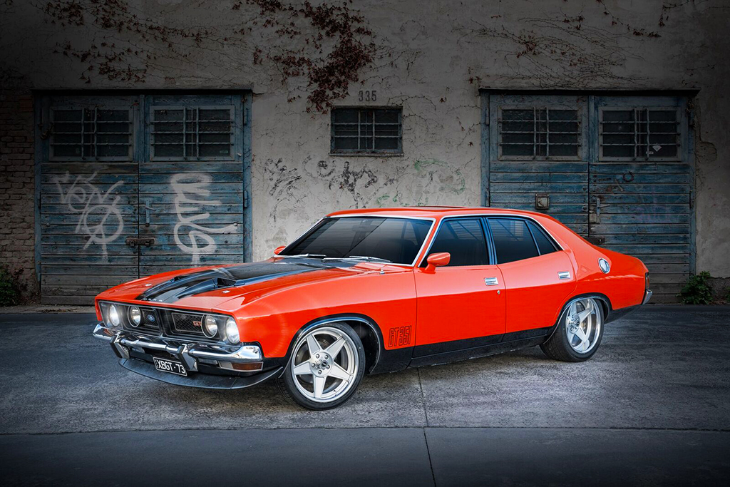 Ford XB Falcon fitted with custom CTM Muscle Forged Globe wheels