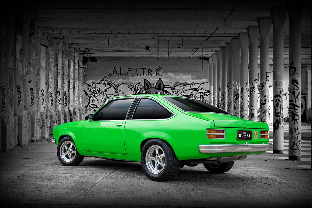 Holden Torana LX SS fitted with CTM Muscle Dragstar wheels