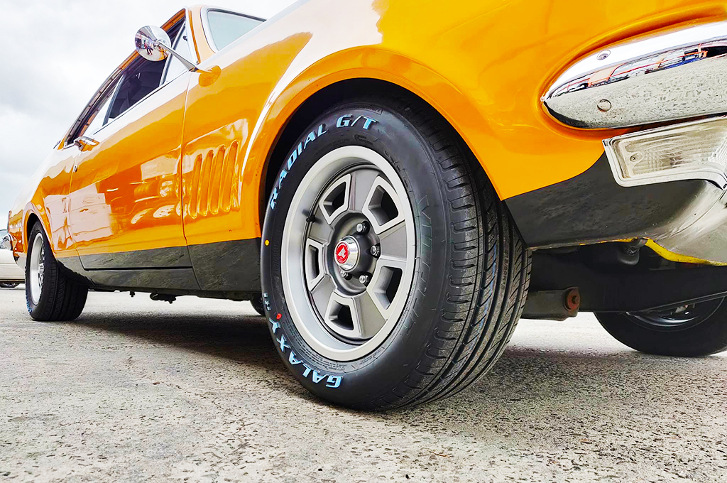 Holden HK Monaro fitted with CTM Muscle GTS Custom wheels