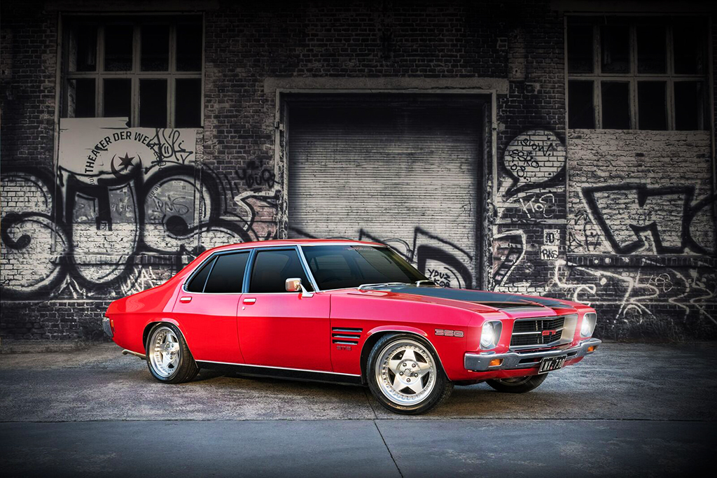 Holden HJ fitted with CTM Muscle Custom Pro wheels